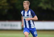 Bundesliga - Arne Maier, Gelandang Muda Hertha Berlin Diminati MU