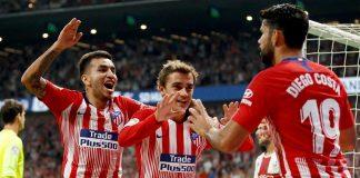 Atletico Hantam Huesca 3-0 di Wanda Metropolitano