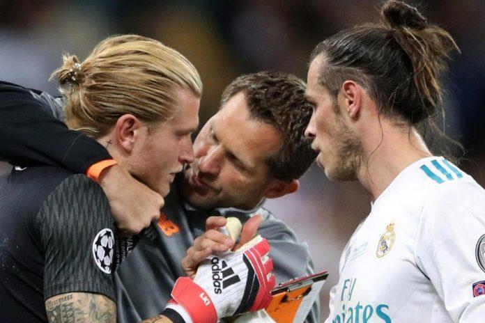 Liga Champions - Loris Karius and Gareth Bale