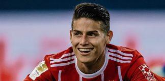 Bayern Tak Ingin Kembalikan James ke Real Madrid