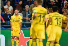 Liga Champions-Dortmund Susah Payah Menang di Kandang Club Brugge