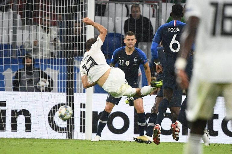 Hasil UEFA Nations League: Prancis vs Jerman 0-0