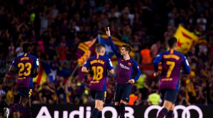 La Liga - Barcelona vs Girona 2-2