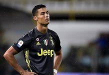 Cristiano Ronaldo Terancam Sanksi Larangan Bermain Tiga Pertandingan