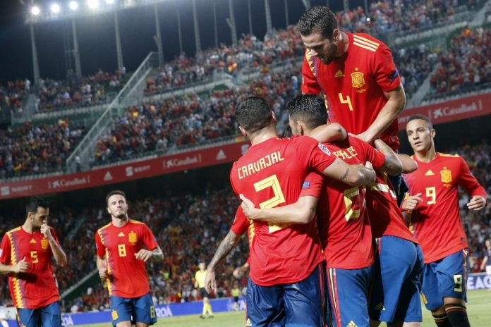 Berita Bola-Selebrasi Timnas Spanyol Setelah Kalahkan Kroasia