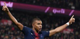 Kylian Mbappe Mencetak 4 Gol Saat Laga Kontra Lyon