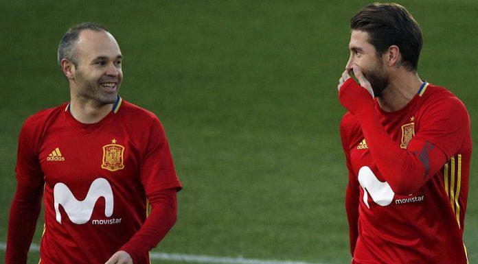 Adu Ketajaman, Sergio Ramos Lebih Produktif Dibanding Iniesta