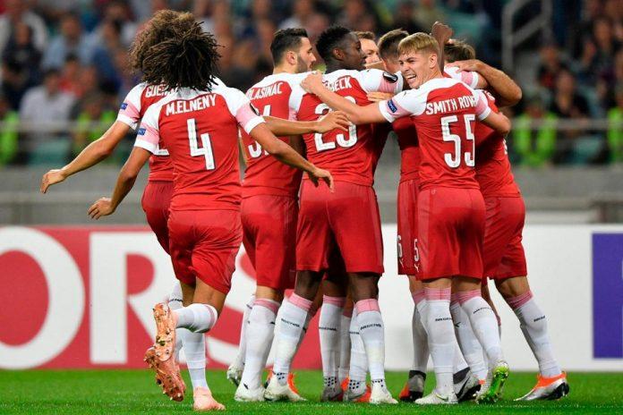 Arsenal Menang Meyakinkan Tiga Gol Tanpa Balas Melawan Qarabag