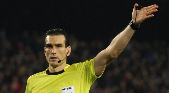 Juan Martinez Munuera Menjadi Sorotan Saat Memimpin Pertandingan Derby Madrid
