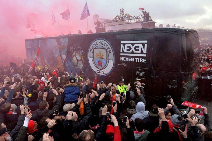 City Siapkan 'Bus Mata-mata' Saat Berkunjung Ke Anfield