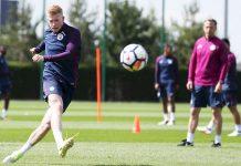 De Bruyne Sudah Kembali Berlatih Bersama Manchester City