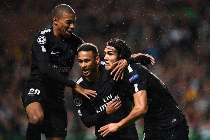 PSG - Cavani, Neymar, Mbappe