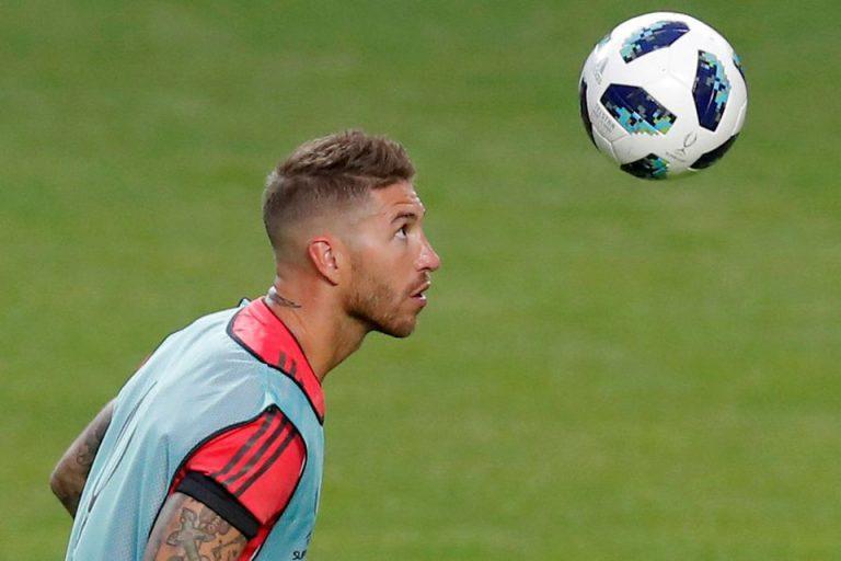 Diterjang Saat Latihan, Ramos Sepak Pemain Muda Madrid