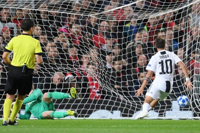 Gol Tunggal Dybala Benamkan Perlawanan Man United