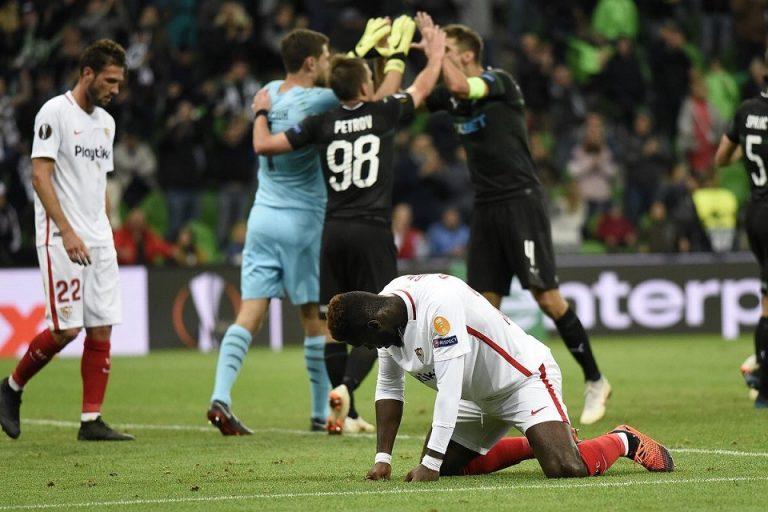 Hasil Akhir Liga Europa: Sevilla Tumbang 2-1 di Rusia