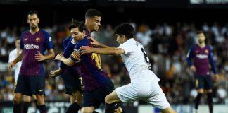Hasil Liga Spanyol Barcelona Gagal Menang Lagi