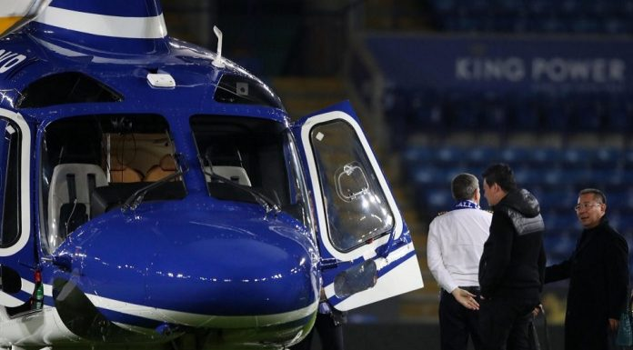 Helikopter Bos Leicester Alami Kecelakaan di Stadion