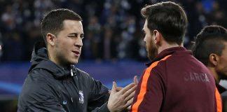 Ini Yang Harus Dilakukan Hazard Untuk Bisa Selevel Messi
