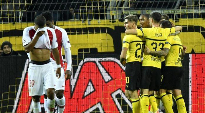 Kalahkan AS Monaco 3-0, Dortmund Kokoh di Puncak Klasemen
