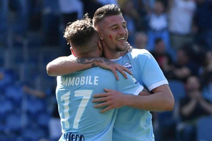 Lazio Perpanjang Kontrak Milinkovic-Savic dan Immobile