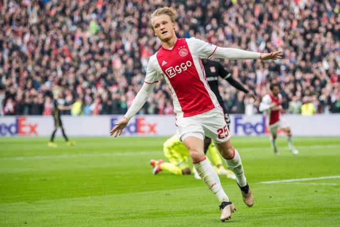 Dolberg tetap di Ajax