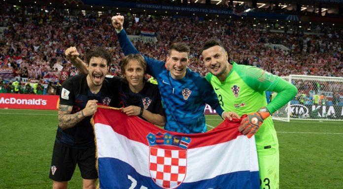Media Inggris Remehkan Timnas Kroasia di Piala Dunia 2018