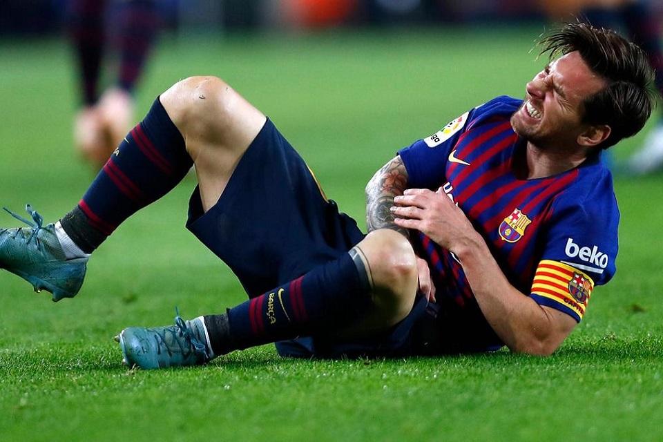 Lionel Messi Harus Absen Selama 3 Pekan Karena Cedera