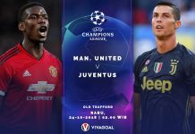 Preview Pertandingan Man United Vs Juventus