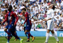Real Madrid Takluk di Santiago Bernabue