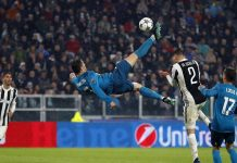 Ronaldo Saat Mencetak Gol Lawan Juventus