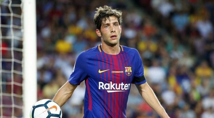 Sergi Roberto Dipastikan Absen Dua Laga Bela Barcelona