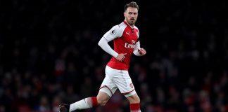 La Liga - Soal Peluang Rekrut Aaron Ramsey, Madrid Minta Pendapat Bale
