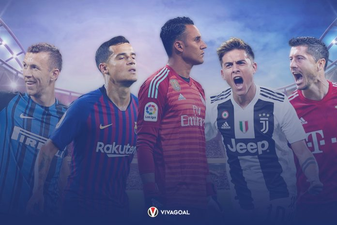 Starting XI Non-Nominasi Ballon d'Or 2018