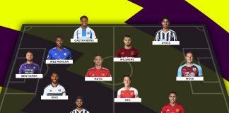 Starting XI Terburuk Sementara Liga Primer Inggris Musim Ini