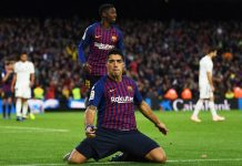 Suarez Membuat 2 Gol dalam laga El Clasico