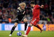 Tahan Imbang Bayern Munchen di Allianz Arena, Ajax Pimpin Grup E