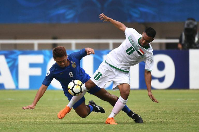 Thailand Mampu Imbangi Irak di Piala Asia U-19