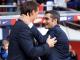 Ernesto Valverde Bersalaman Dengan Julen Lopetegui Sebelom Pertandingan El Clasico