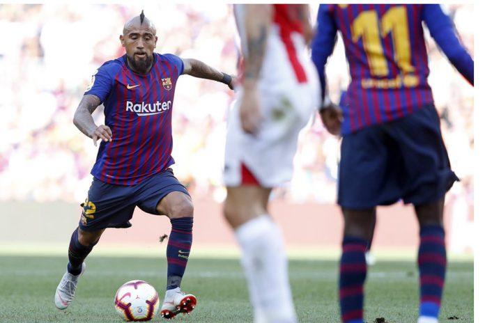 Vidal Memiliki Gaya Berbeda dari Gelandang Barcelona Lainnya