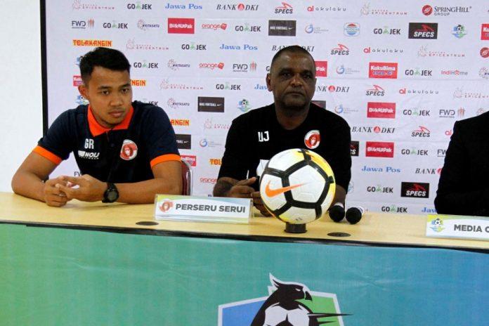Liga 1; Wanderley Prediksi duel Siwijaya FC vs Perseru Akan Berlangsung Sengit