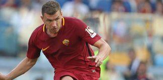 Edin Dzeko Nyaman Bersama AS Roma