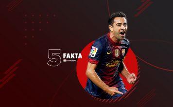 5 Fakta Xavi Hernandez
