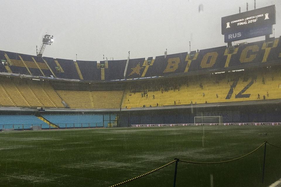 Final Copa Libertadores Leg Pertama di Tunda