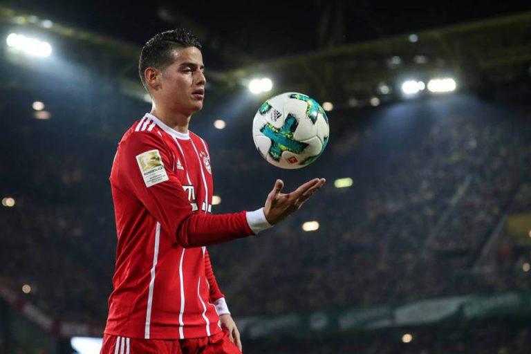 Arsenal Siap Bersaing Dapatkan James Rodriguez Meski Tak Mudah
