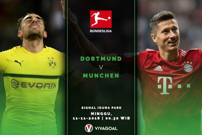 Dortmund superior atas bayern