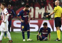 La Liga; Empat Pilar Barcelona Mengalami Cedera