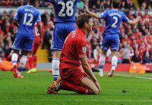 Steven Gerrad Buka Suara Terkait Terpelestnya Ia Saat Melawan Chelsea