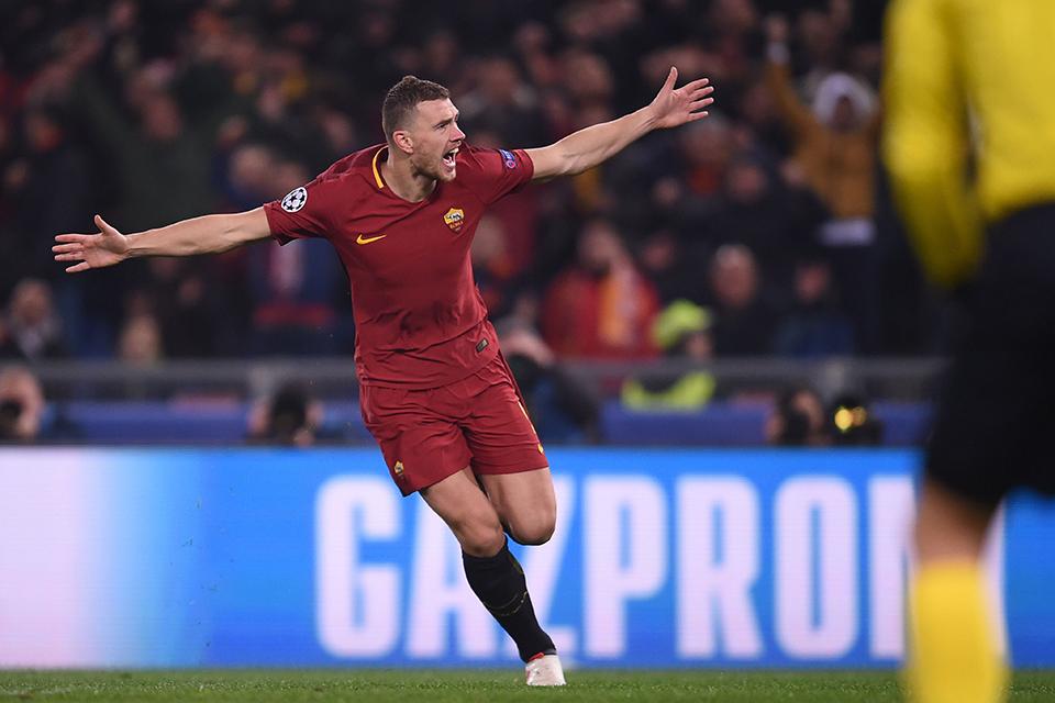 Sayonara Inter, Roma Resmi Perpanjang Kontrak Dzeko