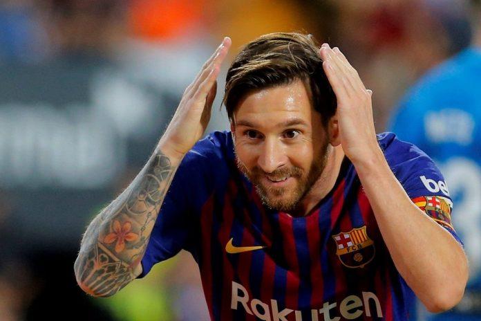 Lionel Messi Tidak Di Bawa Saat Barcelona Ke San Siro