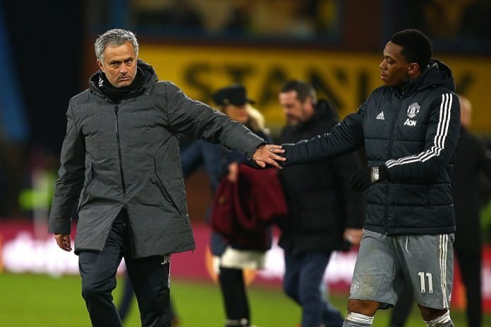 Mourinho Ingin Anthony Martial Bertahan di Manchester United